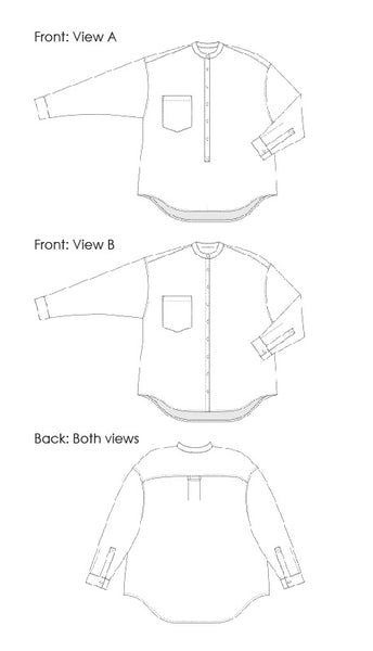 Cornell Shirt - Digital Sewing Pattern