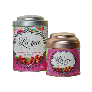 La'tea Cranberry Rose Green Tea