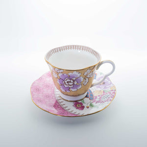 Refresh Moment Wedgwood Butterfly Bloom Floral Bouquet Teacup & Saucer