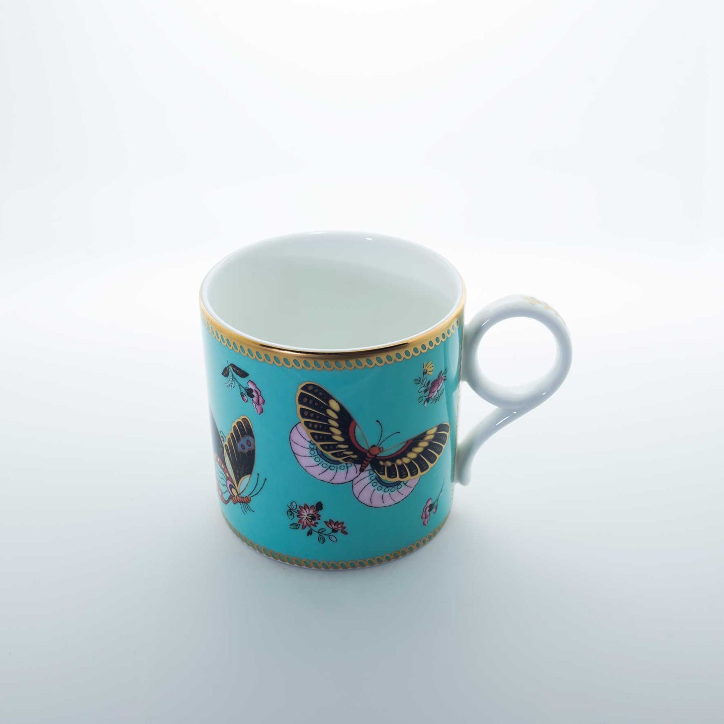 Refresh Moment Wedgwood Turqouise Butterfly Mug