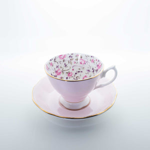 Refresh Moment Royal Albert Rose Pink Teacup and Saucer