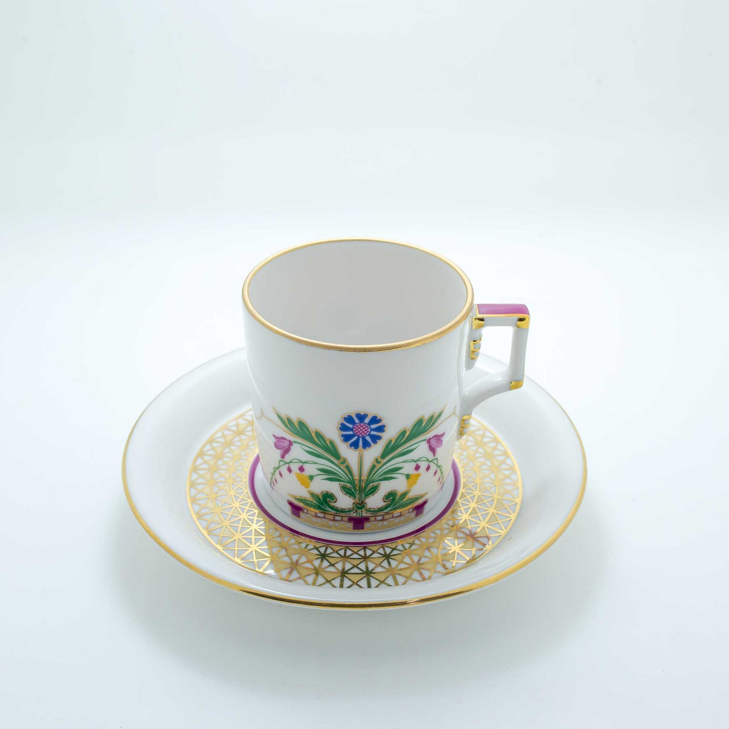 Refresh Moment Imperial Porcelain St. Petersburg 1744 The Moscow River Teacup and Saucer