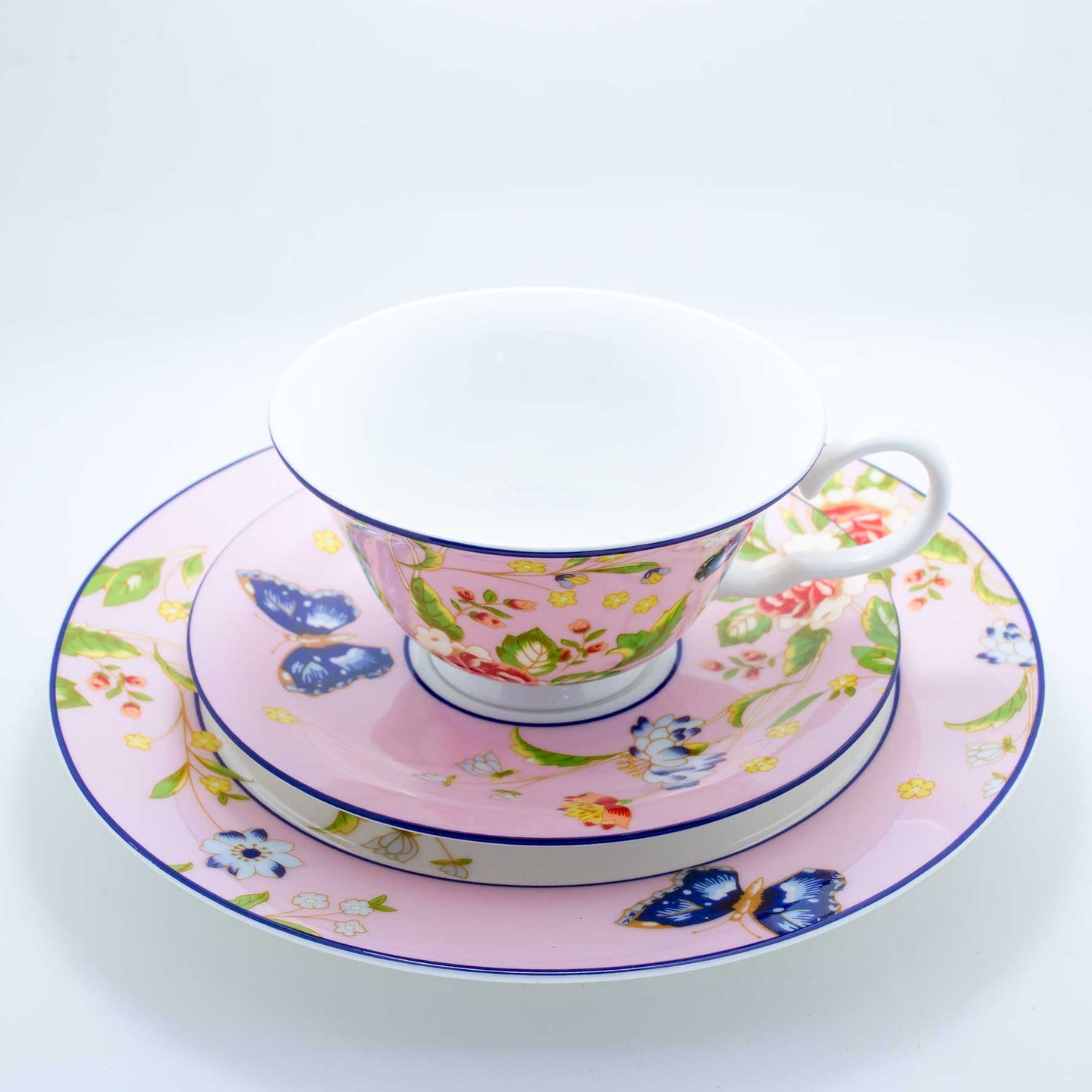 Refresh Moment Aynsley Lovely Garden Teacup and Saucer