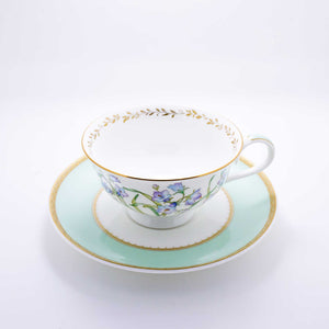 Refresh Moment Narumi Cool Spring Teacup and Saucer