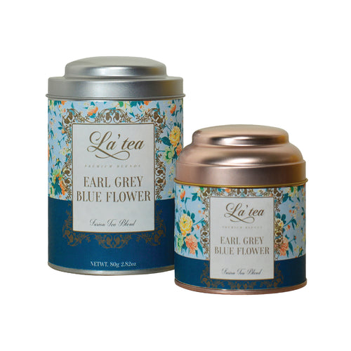 La'tea Earl Grey Blue Flower