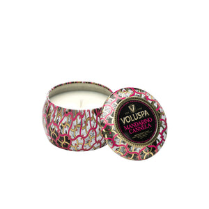 Refresh Moment Voluspa Mandarino Cannela Petite Decorative Tin