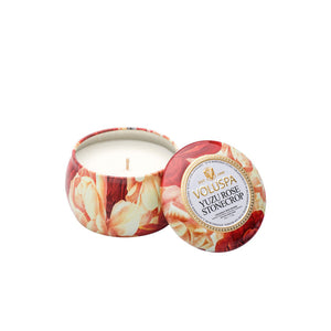 Refresh Moment Voluspa Yuzu Rose Stonecrop Petite Decorative Tin
