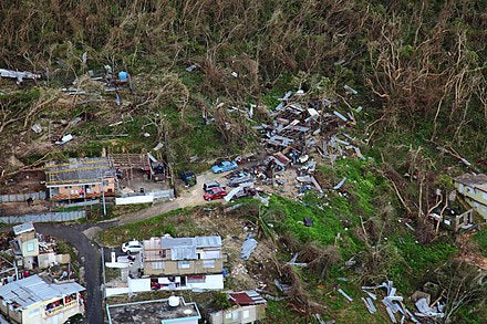 destruction of hurricane maria in puerto rico