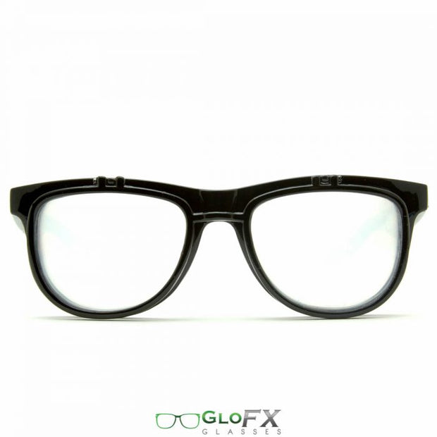 GloFX Black Matrix Diffraction Glasses