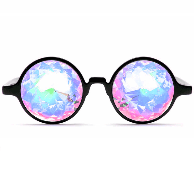 Kaleidoscope Glasses Round Frame