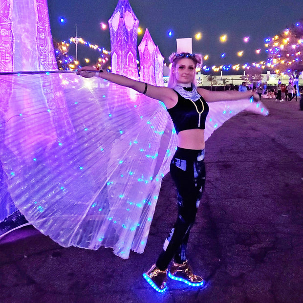 LED Isis Wings (Rechargeable)