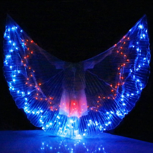 Two-Tone LED Isis Wings