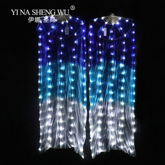 LED Silk Veil Fan Pair