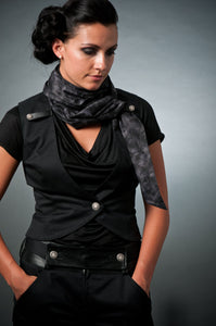 Convertible Scarf Vest