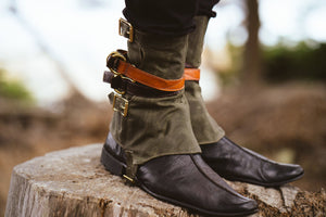 Waxed Canvas Gaiters