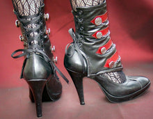 Spats -Military-inspired with buttons and chain-Circe