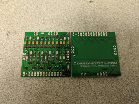 CorsoMotion Sequential Module Version 2 (PAIR)