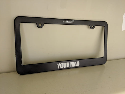Illumaesthetic Custom Plate Frame