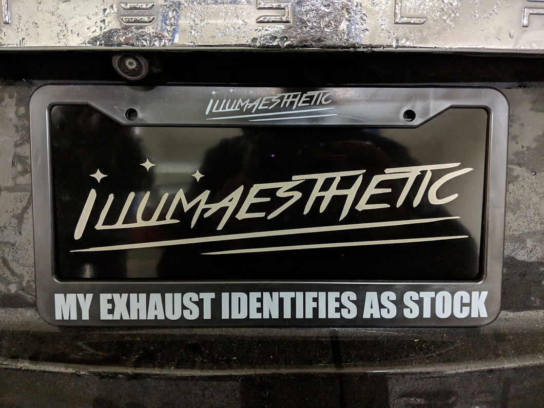 MY EXHAUST IDENTIFIES AS STOCK