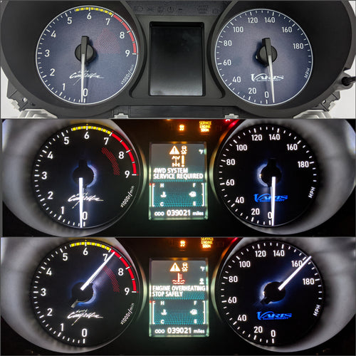 Mitsubishi Lancer Evolution X - Gauge Faces (CZ4A)