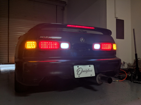 DC2 Honda/Acura Integra OEM+ LED Tail Lights