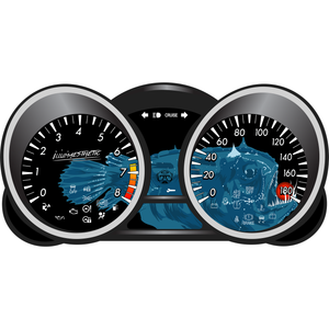 Illumaesthetic's Mazda MazdaSpeed 3 2nd Generation - Gauge Faces (BL, '10-13)
