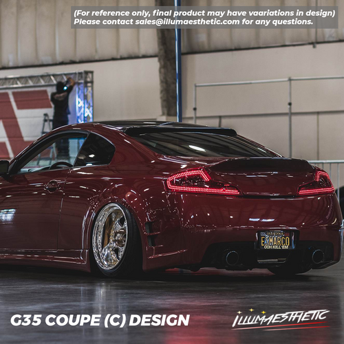 Infiniti G35 & Skyline V35 Coupe - Complete DIY Kit