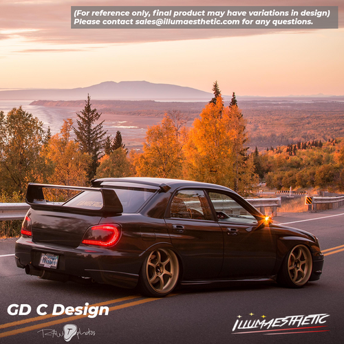 Subaru Impreza Hawkeye Sedan (GD, 06-07) - Complete DIY Kit