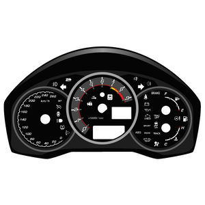 Illumaesthetic FR-S/GT-86/BR-Z (Non-LCD) - Gauge Faces (ZN6)