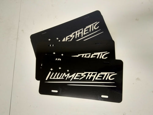 Illumaesthetic Custom Etched Display Plate