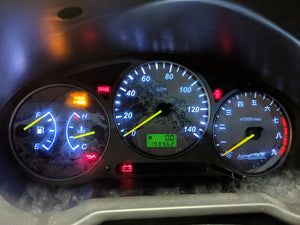 Illumaesthetic Subaru Impreza Bugeye WRX/STI (GD) - Gauge Faces (02-03)