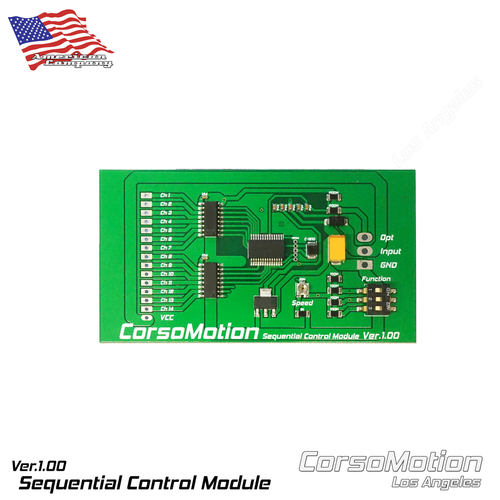 CorsoMotion - Sequential Module V3 (Pair)