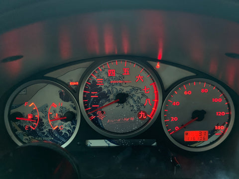 Illumaesthetic Subaru GD WRX (04-07) Gauge Faces