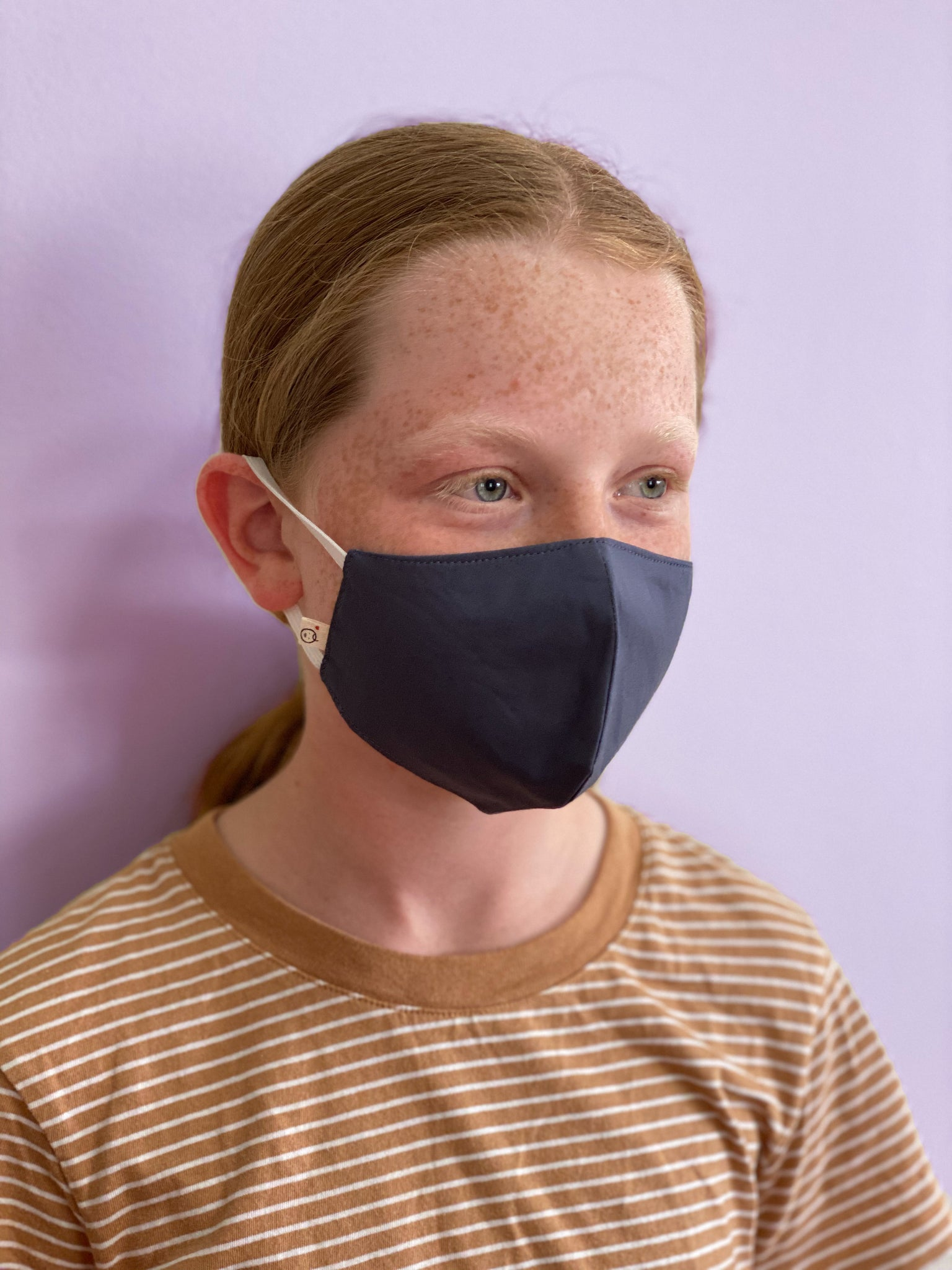 Cotton Face Mask - Midnight Blue