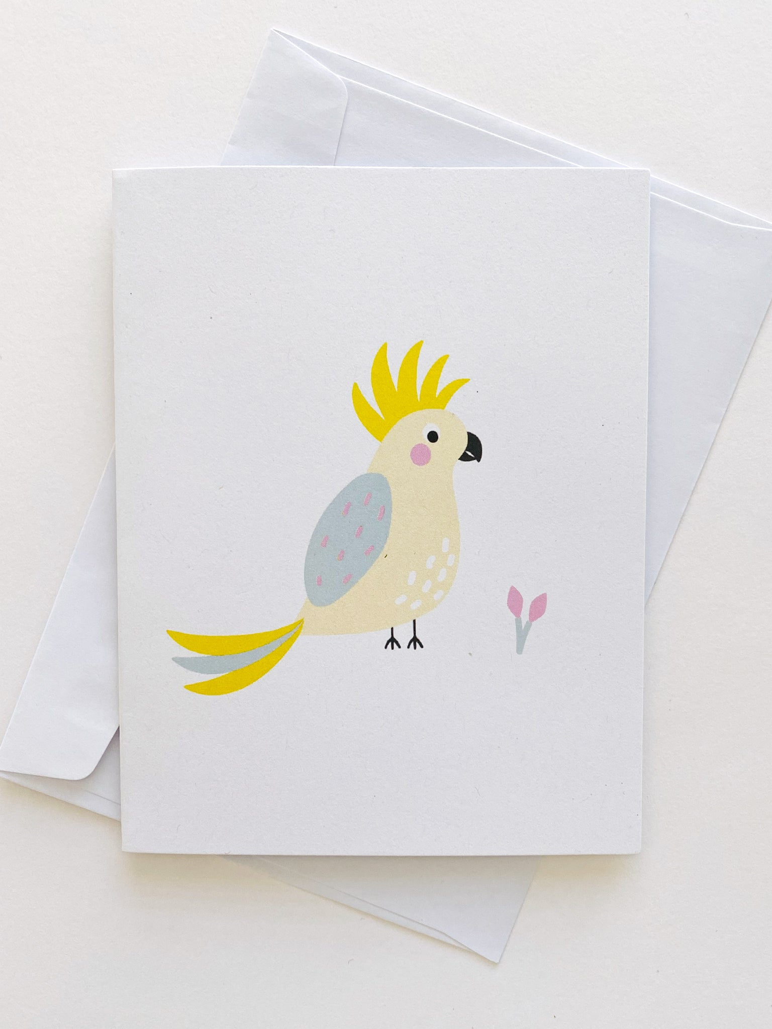 Greetings Card - Cockatoo