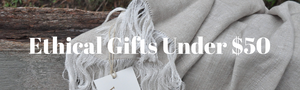 ethical gifts under $50 on a fair trade blanket throw rug