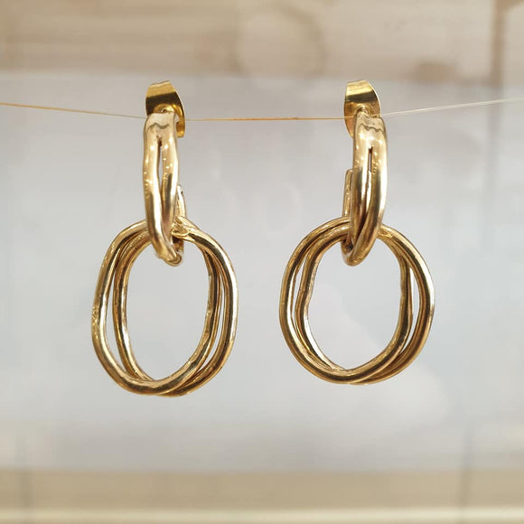 Nia Drop Earrings - The Fair Trader
