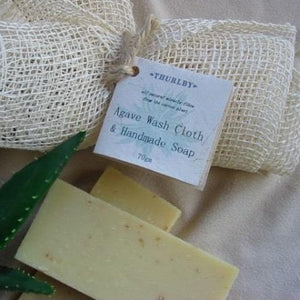 Agave Cloth with Handmade Soap