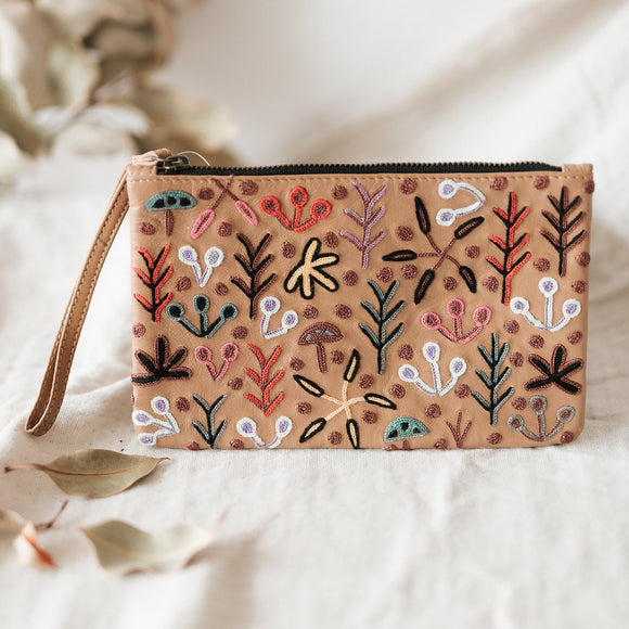 Betty Pula Morton Clutch - Leather - The Fair Trader
