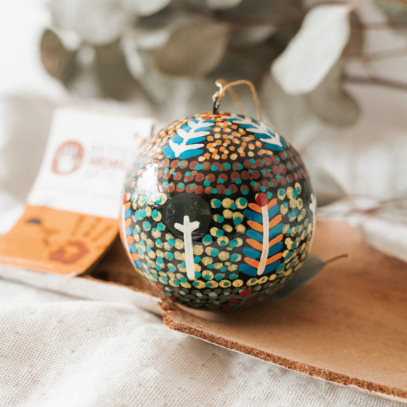 Indigenous Art Christmas Bauble - Rosie Ross - The Fair Trader