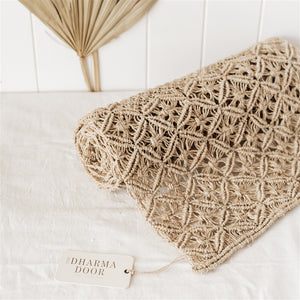 Jute Macrame Table Runner - The Fair Trader