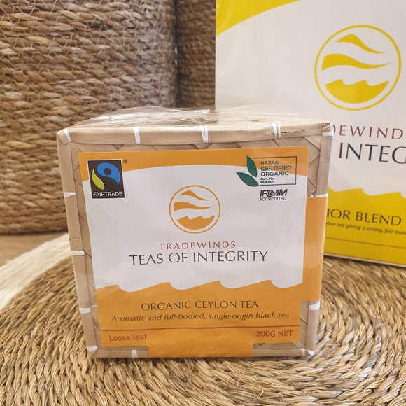 Organic Ceylon Tea - 200g Loose Leaf - The Fair Trader