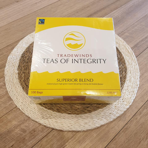 Superiour Blend Black Tea - 100 Teabags - The Fair Trader