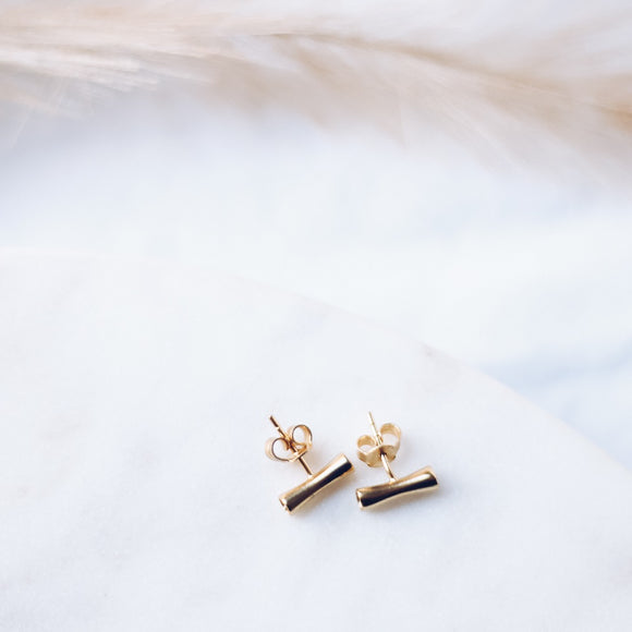 Spirited Pretty Stud Earrings - Gold - The Fair Trader