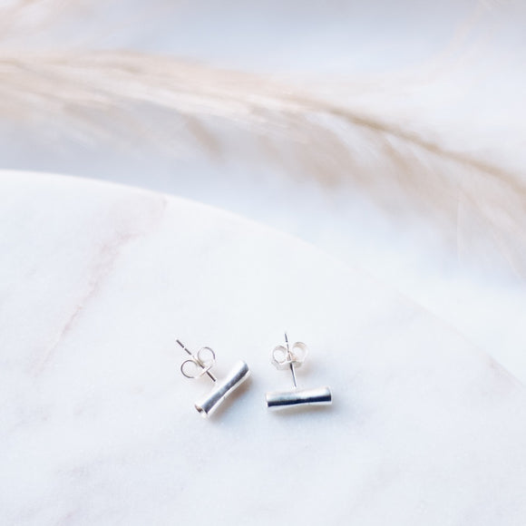 Spirited Pretty Stud Earrings - Silver