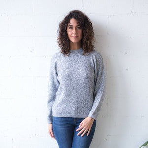Alpaca Wool Classic Jumpers - Grey Marle