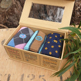 Socks That Fight Poverty Collection (Hunger, Water, Books) - Box of 3 - The Fair Trader