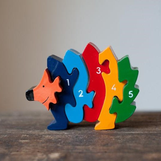 Hedgehog Wooden Jigsaw Puzzle - The Fair Trader