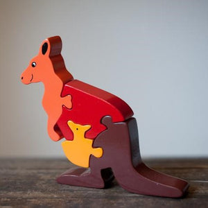 Kangaroo & Joey Jigsaw Puzzle - The Fair Trader