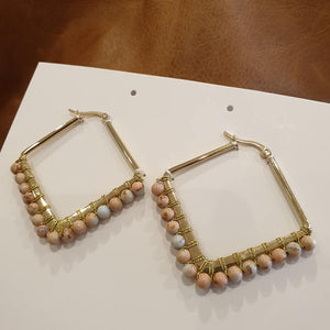 Kayla Blush Earrings